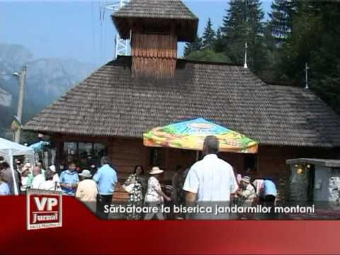 Sărbătoare la biserica jandarmilor montani