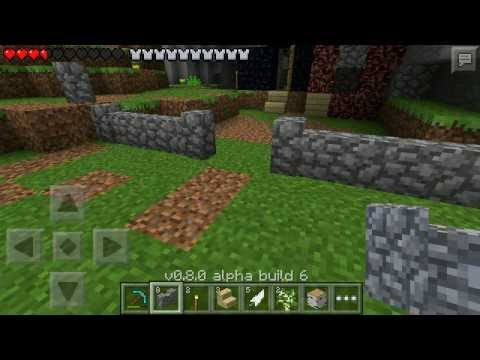 6 0 - Minecraft Pocket Edition 0.8.0 Beta Livestream (Alpha Build 6 Beta Test) Mojang is holding a 0.8.0 beta to Android and I was lucky enough to get into it. I'l...