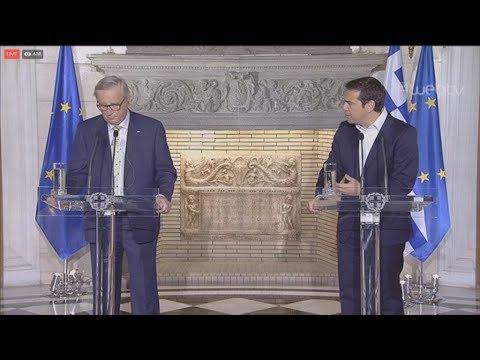 Αλ. Τσίπρας- Ζαν Κλοντ Γιούνκερ: Η πιο καθαρή έξοδος για την Ελλάδα