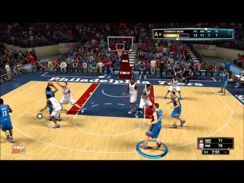 (NBA 2k13) Sophmore Year Game 9 Vs Philladelphia 76ers