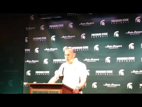 Mark Dantonio on blown chances and officiating in loss to Arizona State