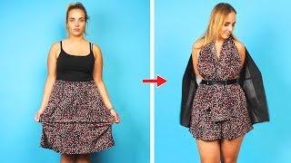 Fashion Hacks are in My Blood. 23 DIY Clothes Ideas by Crafty Panda