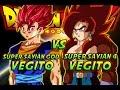 Dragonball Z: What If Battle - Super Saiyan God Vegito Vs Super Saiyan 4 Vegito