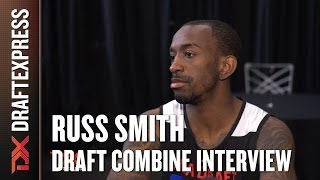 Russ Smith Draft Combine Interview
