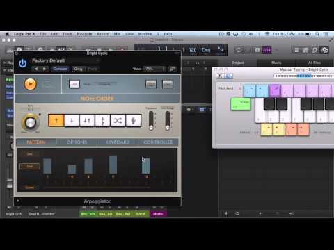 Logic Pro X – First Impressions – Retro Synth – Chord Trigger MIDI Insert FX