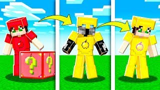 If ARMOR Was Made Of GOLDEN APPLES In Minecraft! (Apple Lucky Block)