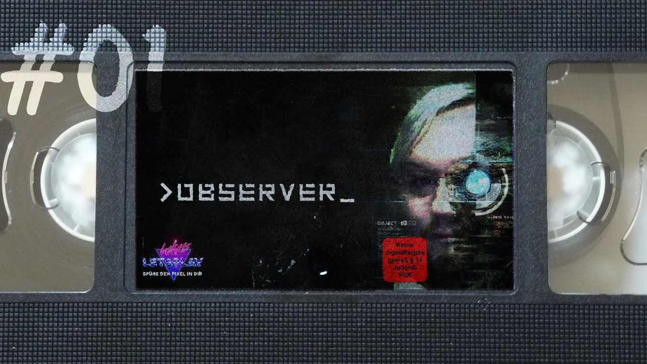 #01 - Mord im Cyber Hotel | Let's Play Observer