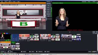 Custom Virtual Sets Design for Vmix