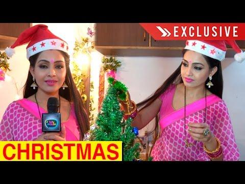 Shubhangi Atre aka Angoori Bhabhi CHRISTMAS Celebr