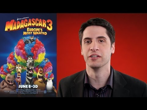 Madagascar 3: Europe\'s Most Wanted movie review