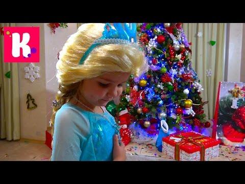 Подарки для Кати от Деда Мороза Примеряем и будим Макса Сhrisтмаs gifтs 2017 fоr Мiss Кату - DomaVideo.Ru