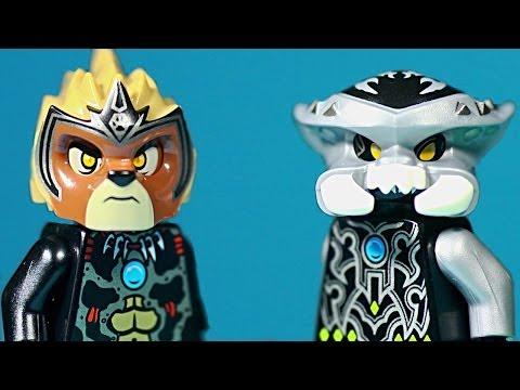 Vidéo LEGO Chima 70140 : Set de démarrage - Scorpion vs Lion