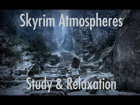 Skyrim Ambience - Study & Relaxation Music - 3 Hours