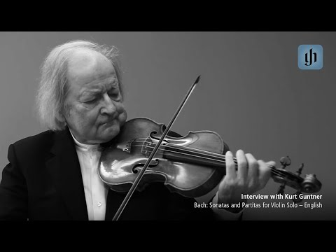 Video - Bach, JS - 6 Sonatas and Partitas, BWV 1001-1006 - Solo Violin - edited by Klaus Rönnau and Wolfgang Schneiderhan - G Henle Verlag URTEXT | 0014 014