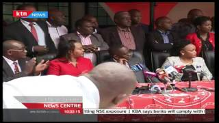 Anne Waiguru receives gold membership certificate from TNA Party