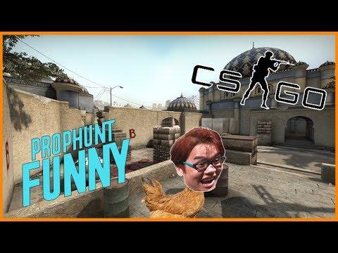 Prop hunt - Chơi Prophunt trốn tìm mod cực bựa trong CS:GO cùng đồng bọn !!