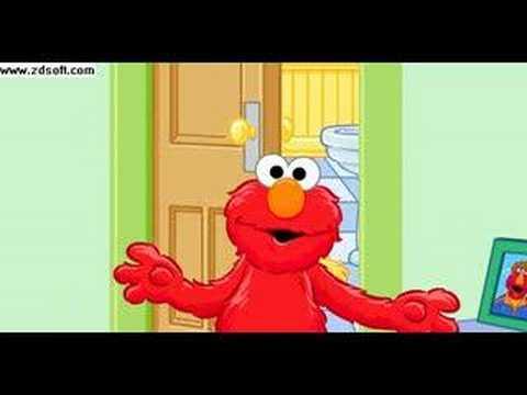 Elmo teaches potty