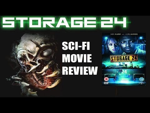 STORAGE 24 ( 2012 Laura Haddock ) Creature Feature Sci-Fi Movie Review