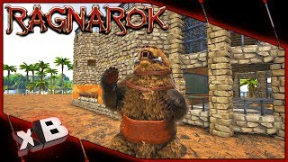 NEW DIRE BEAR TAME! :: ARK: Ragnarok Evolved :: Ep 27
