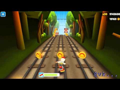 Subway Surfer Highscore 10512290 , World Record ! (видео)