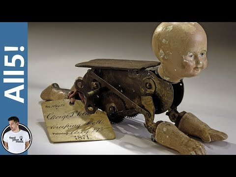 5 TERRIFYING Toys From The Past!