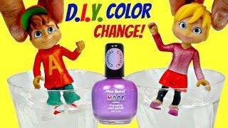 Video D.I.Y. ALVINNN!!! and the Chipmunks Color Change Nail Polish MP3, 3GP, MP4, WEBM, AVI, FLV November 2018