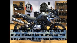 8. 1st 2019 BMW F750GS in Stereo Metallic Matte Overview @ Frontline Eurosports with Nate Jennings