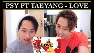 PSY FT TAEYANG - LOVE MV REACTION dance cover reaction teaser version practice live tutorial audio mp3 live performance...