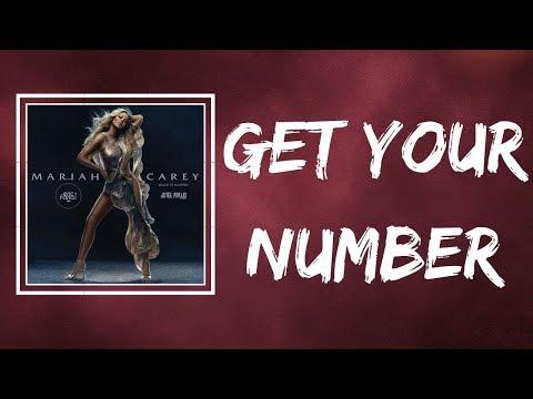 Mariah Carey - Get Your Number (Lyrics)