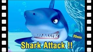 Video #22 Shark Attack!!   Kids movie   kids animation   Animated Short   Pororo Mini Movie MP3, 3GP, MP4, WEBM, AVI, FLV Oktober 2017