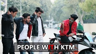 Video People With KTM   KTM Lovers   Abhishek Kohli MP3, 3GP, MP4, WEBM, AVI, FLV Maret 2019