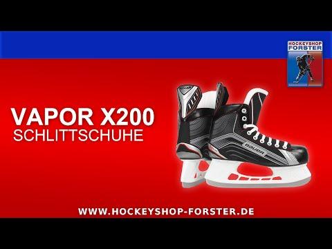 TESTBERICHT BAUER VAPOR X200 SCHLITTSCHUHE | HOCKEYSHOP FORSTER