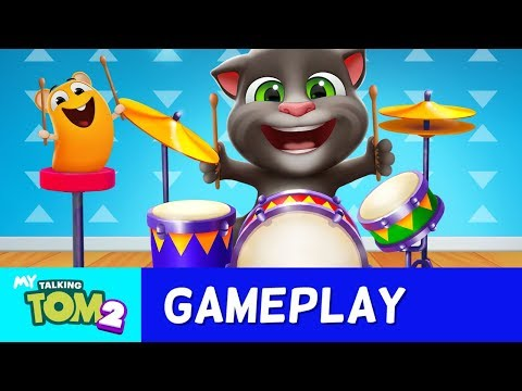 🥁 NEW DRUM SET In My Talking Tom 2 (Grand Concert)