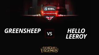 greensheep vs HelloLeeroy, game 1