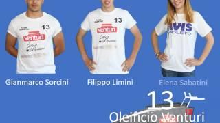 #vaporetti2017 Equipaggio N°13 Oleificio Venturi - Bar Moriconi