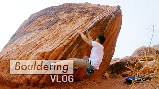 Just a quick boulder in Las Vegas by Bouldering Vlog