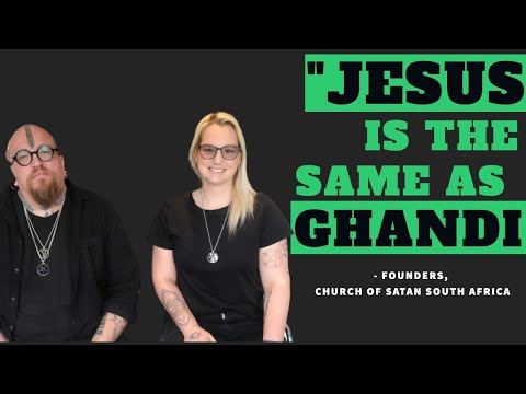 Jesus is The Same As Ghandi says Founder of Satanic Church in South Africa