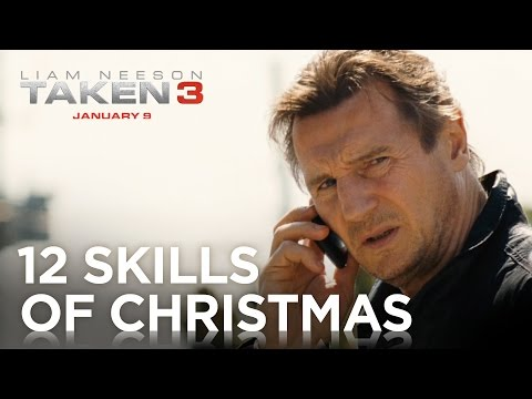 Tak3n (TV Spot '12 Skills of Christmas')