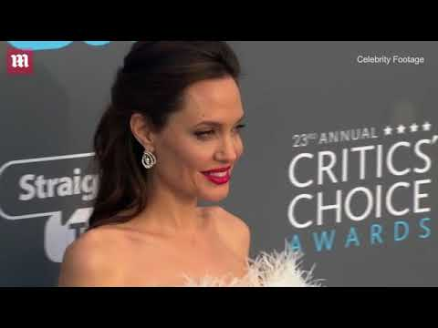 Angelina Jolie attends the Critics' Choice Awards in LA