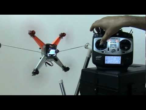 Flight Control - Motor Layout : [ QuadroCopter X mode ] BT : [ Li-Po 2s 600mA ] Test Flight !! Turnigy Integrated PCB Micro-Quad (KIT) + Hobbyking KK2.0 Multi-rotor LCD Fligh...
