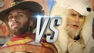 Video OVERWATCH RAP BATTLE MP3, 3GP, MP4, WEBM, AVI, FLV Mei 2018