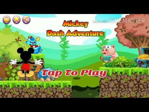 Jogos de Celular - Mickey Dash Adverture