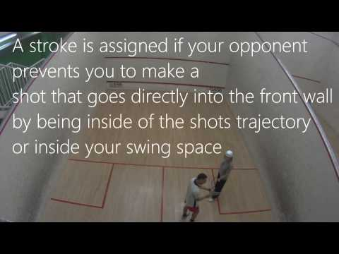 Let & Stroke – Squash Rules – Squash tips