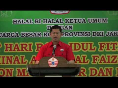Sambutan Halal Bi Halal Ketua Umum Koni DKI Jakarta