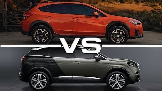 2018 Subaru Crosstrek vs 2017 Peugeot 3008Song: Find Your Way [Rewind Remix Release]Music provided by Rewind Remix https://goo.gl/08ZthIArtist: MOS3S