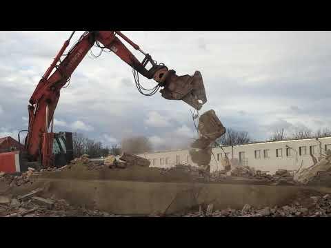 Wideo: Rozbiórka starych pustostanów pod budowę TBS w Głogowie