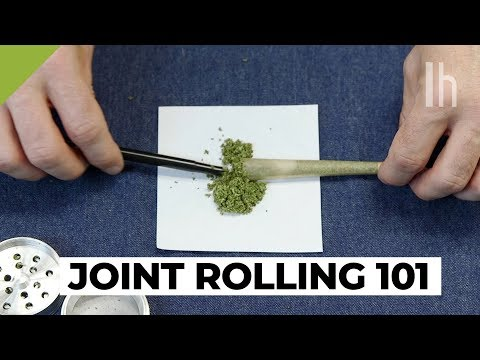 How to Roll and Smoke a Joint, the Quick and Easy Way | Total Beginner's Guide to Weed