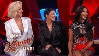 Video Jimmy Kimmel Interviews Kim, Kourtney & Khloé Kardashian in Las Vegas MP3, 3GP, MP4, WEBM, AVI, FLV September 2019