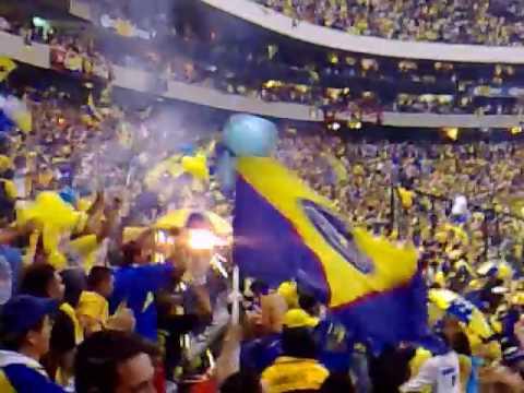 America vs Pachuca Ida Final Clausura 2007 05 Goal & Fight! - La Monumental - América