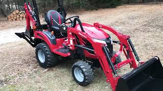 7. 2019 Mahindra eMax20 TLB Delivered